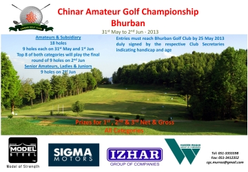 Model Steel Chinar Golf Championship